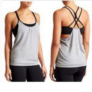 Athleta Energize Strappy Tank with Built-in Bra